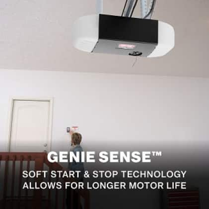 Genie SilentMax Connect Long lasting, durable garage door openers