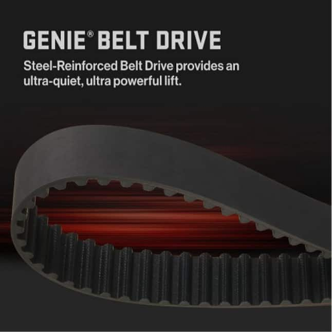 Genie SilentMax Connect Ultra-Quiet belt drive