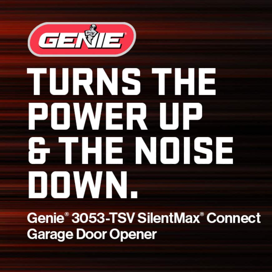 Genie has been making safe, reliable garage door openers for over 65 years