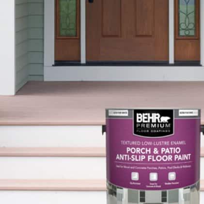 BEHR PREMIUM Textured Porch and Patio Anti-Slip Floor Paint can-shot