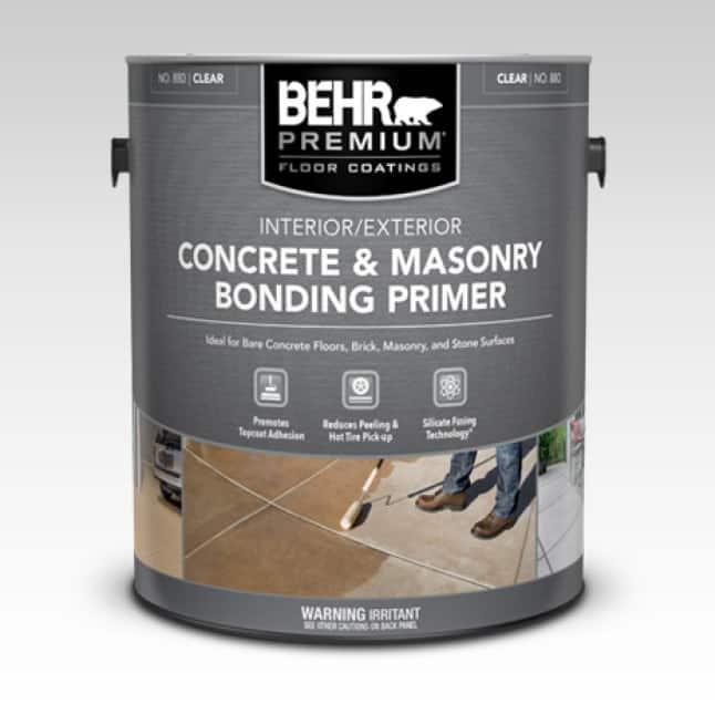BEHR PREMIUM Concrete Bonding Primer can-shot