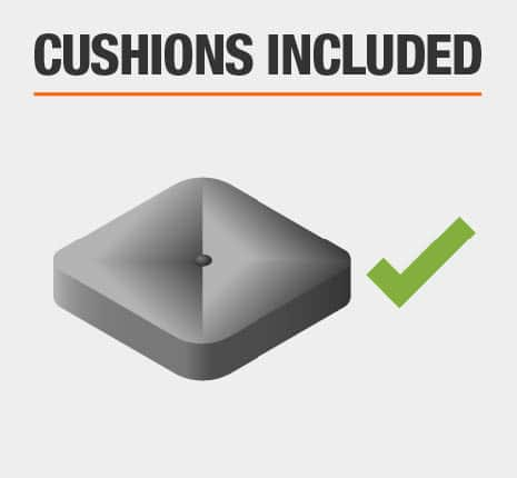 Cushions Included