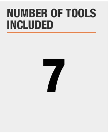 Number of Tools Included
