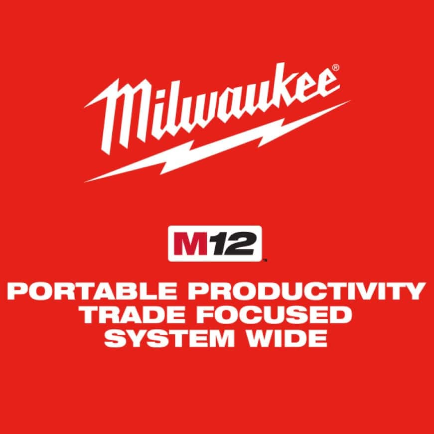 M12 System: portable productivity, trade focused, system wide.