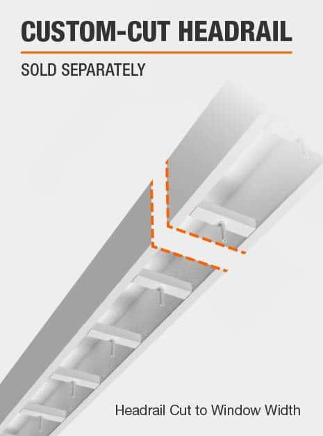 Custom-Cut Headrail