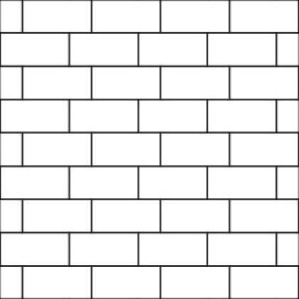 33% Brick Joint Pattern