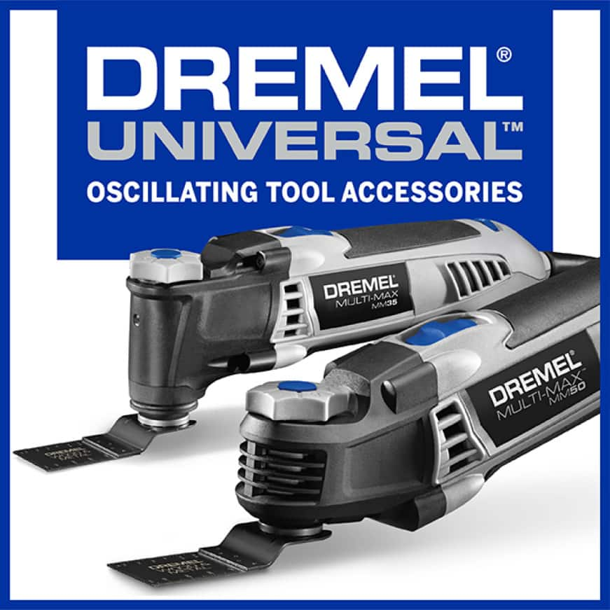 Dremel Ultra Saw Logo with Saw