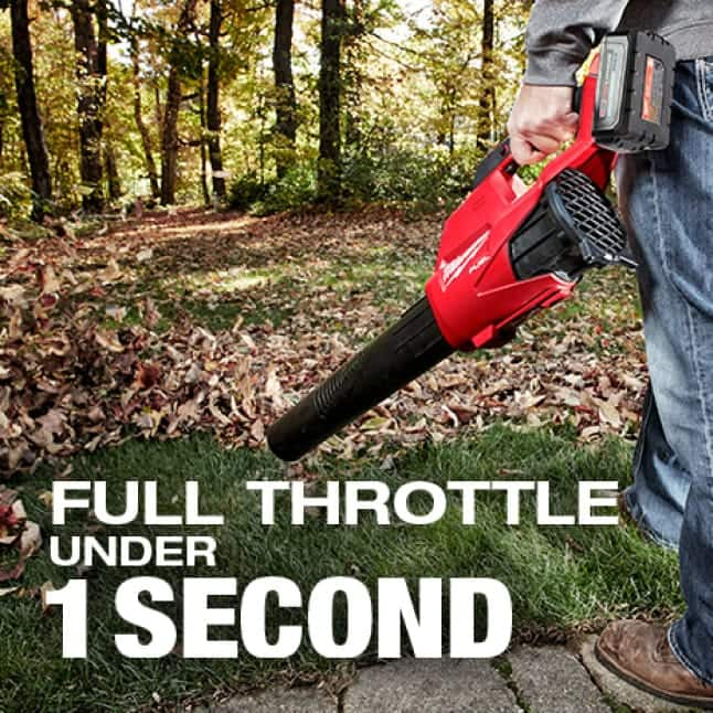 Instantaneous throttle response delivers ultimate control
