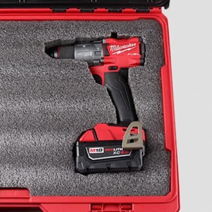 Cut custom foam to increase tool protection