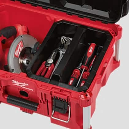 Organize equipment to fit your needs
