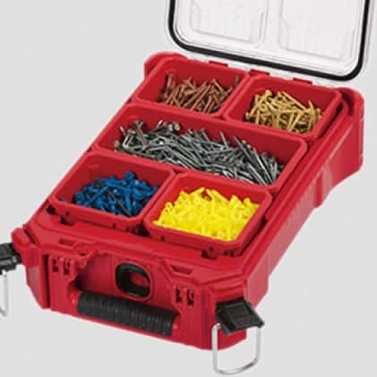Allows for ultimate jobsite organization