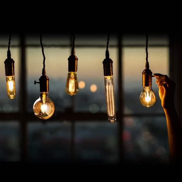 Feit Electric Vintage LED Edison Light Bulbs