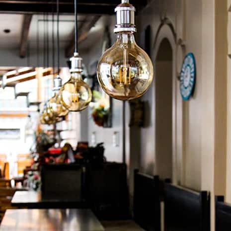 Feit Electric retro dinning chandelier fixture Vintage LED Edison Bulbs