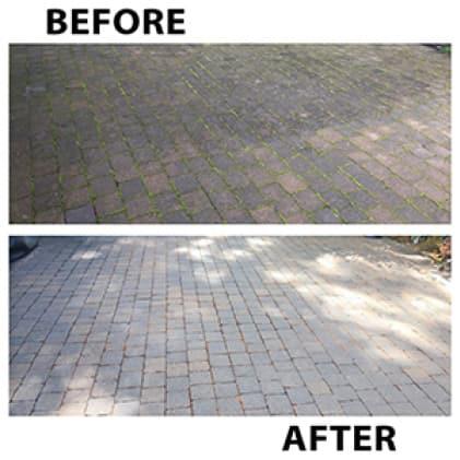 30 SECONDS Spray & Walk Away Ready-To-Spray keeps walkways safe