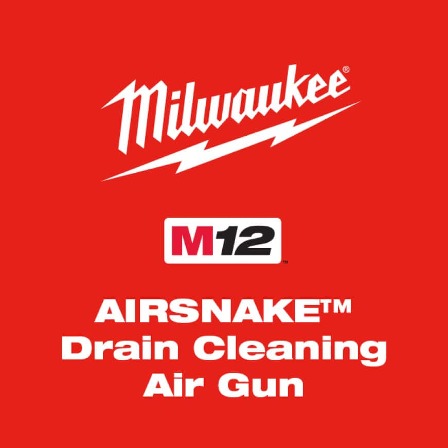 The industry's first drain cleaning machine designed to clear through drain covers and traps with powered air