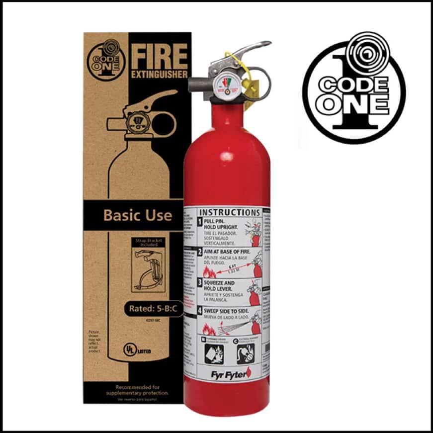 Home fire extinguisher safety basics