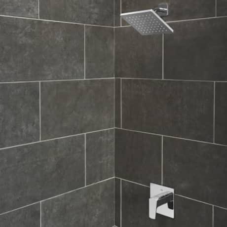 Tallinn Single Control Tub/Shower , CH