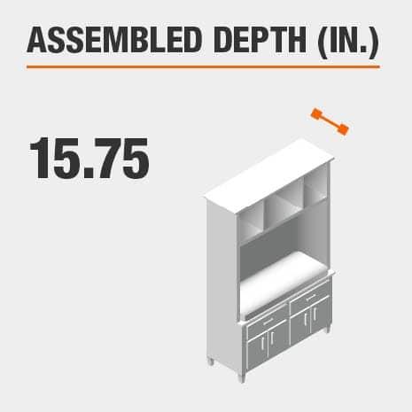 Assembled Depth 15.75 in.