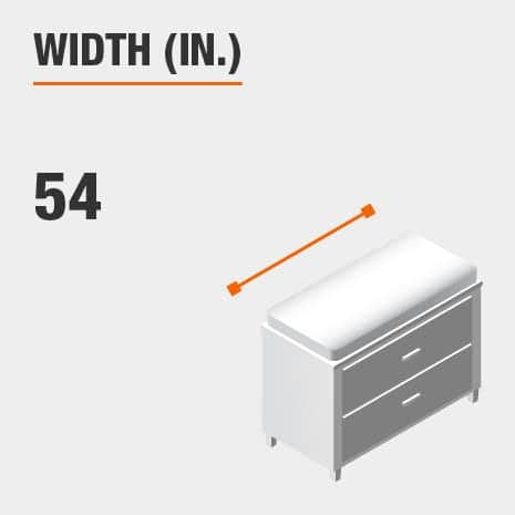 Width 54 inches