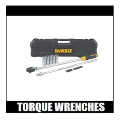 DWMT 82839 8 PC. 1/2 IN. DRIVE TORQUE WRENCH TIRE CHANGE KIT