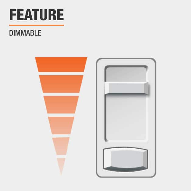 Product feature, Dimmable