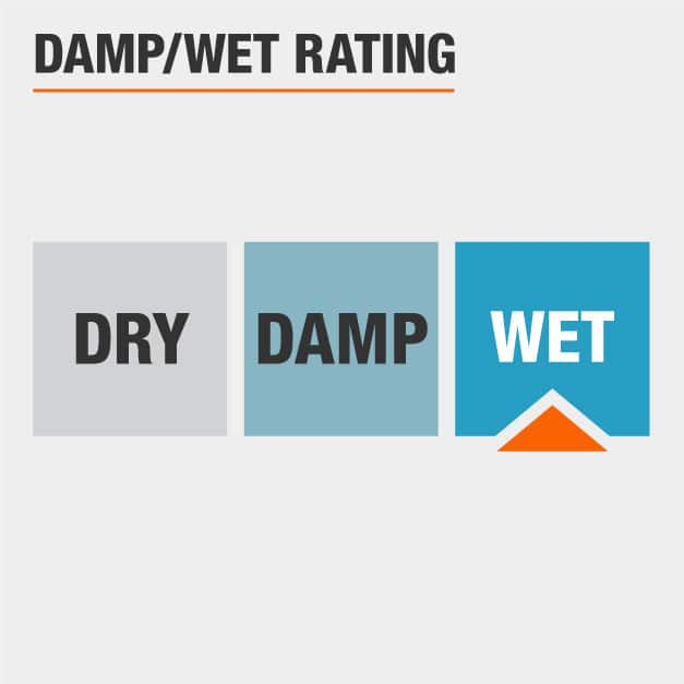 Damp Rated