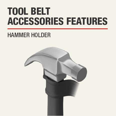 This product includes a Hammer Holder