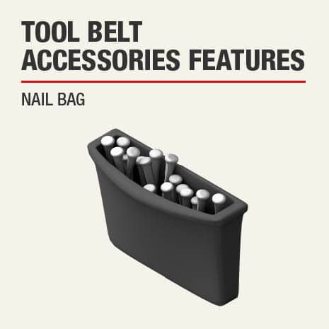 This product includes a nail bag