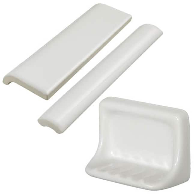 Bullnose, jolly, and soap dish