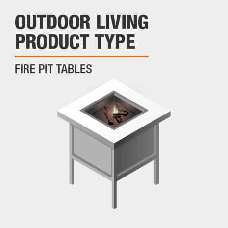 This outdoor living product is a fire pit table.