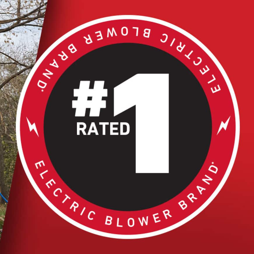 #1 Rated Electric Blower Brand