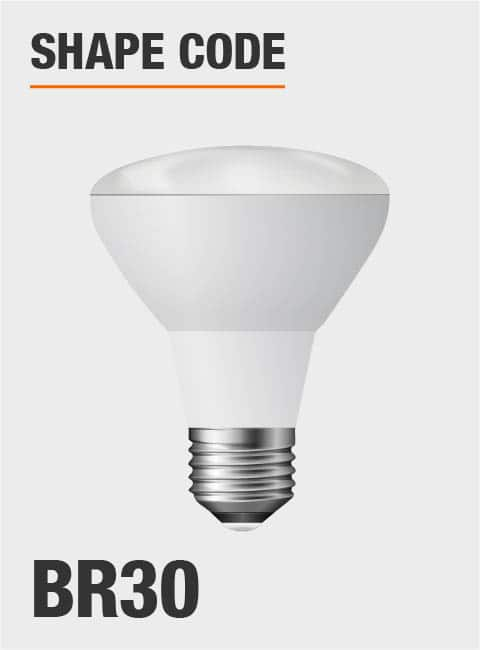 Ecosmart 65 Watt Equivalent Br30 Dimmable Cec Led Light Bulb Bright White 6 Pack 1003028602 The Home Depot