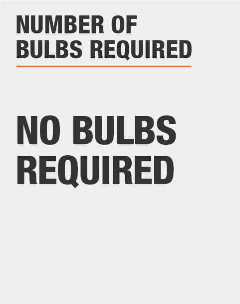 No Light Bulbs Required