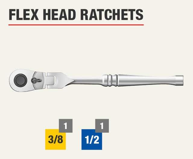 Flex Head Ratchets