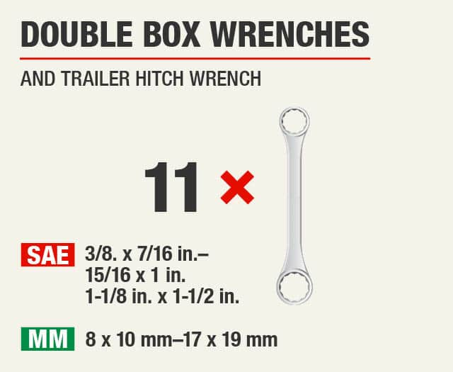 Double Box Wrenches