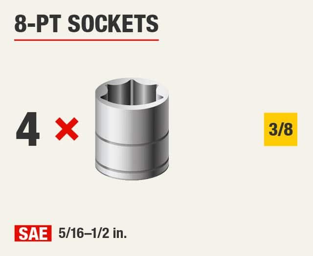 8-Pt Sockets