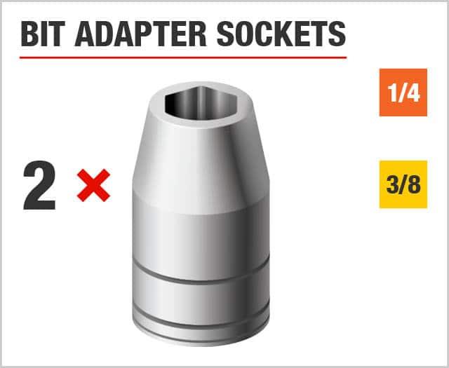 Bit Adapter Sockets