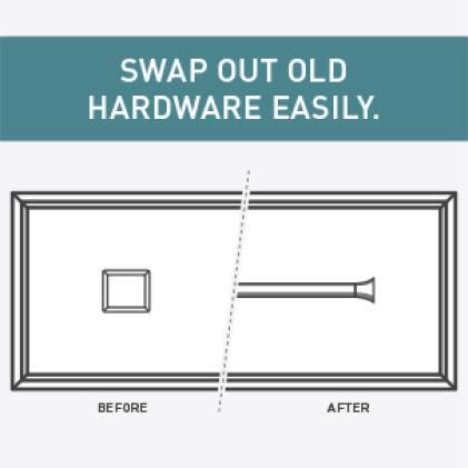 Cabinet Hardware Update