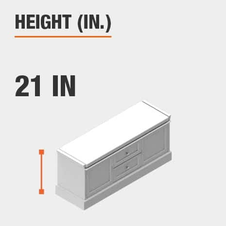Height 21 inches