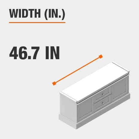 Width 46.7 inches