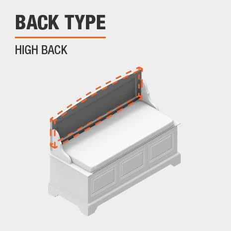 product back type high back