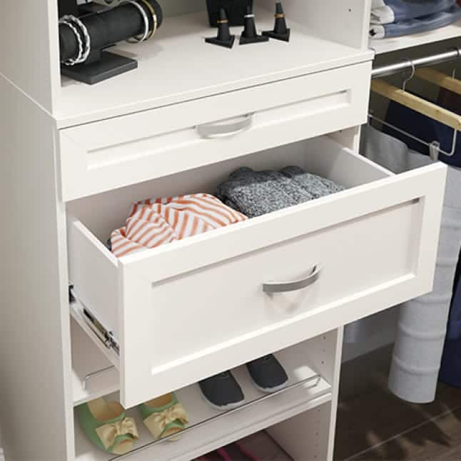 Upgraded drawers
