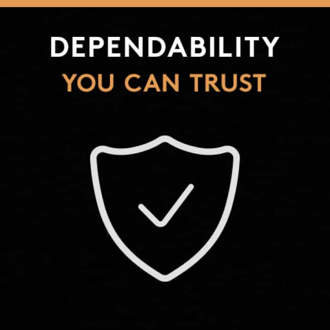 Dependability You Can Trust