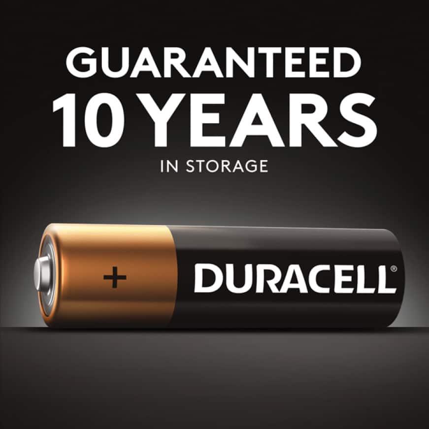 Guaranteed 10 Years In Storage