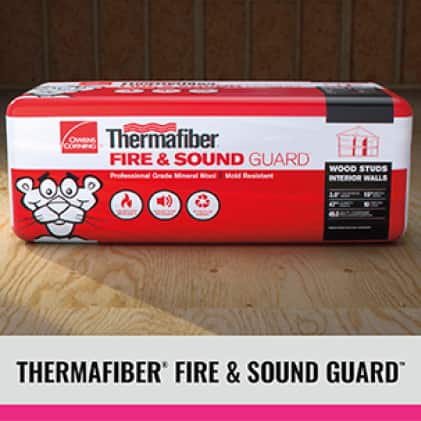 Thermafiber Fire and Sound package