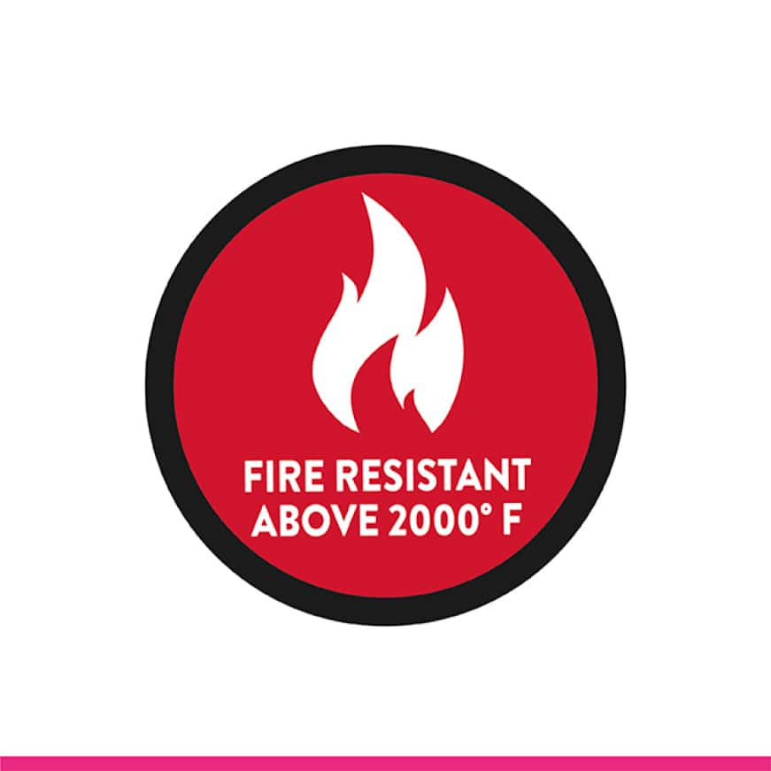 Thermafiber fire resistance icon