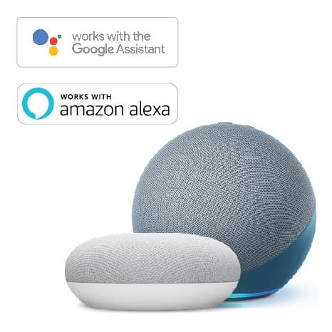Use the bridge for voice activation with Google Assistant or Amazon Alexa.