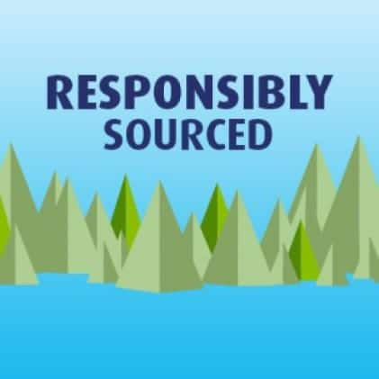 Charmin is sourced from responsibly-managed forests. For every tree we use, at least one is regrown.