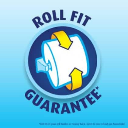 Charmin offers a roll fit money back guarantee.