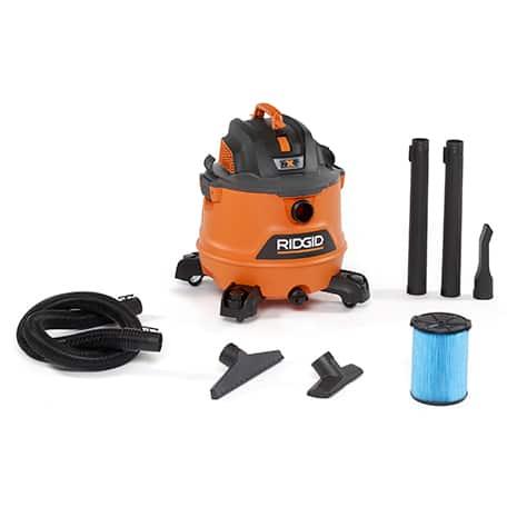 Includes 2-1/2 in. x 7 ft. Hose, 2 Extension Wands, Utility Nozzle, Wet Nozzle, Car Nozzle, Standard Filter, Dust Bag